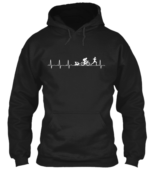 Triathlon Heartbeat   Ltd. Edition Sweatshirt Front