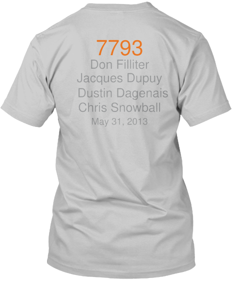 7793 %0A Don Filliter Jacques Dupuy Dustin Dagenais Chris Snowball May 31%2C 2013