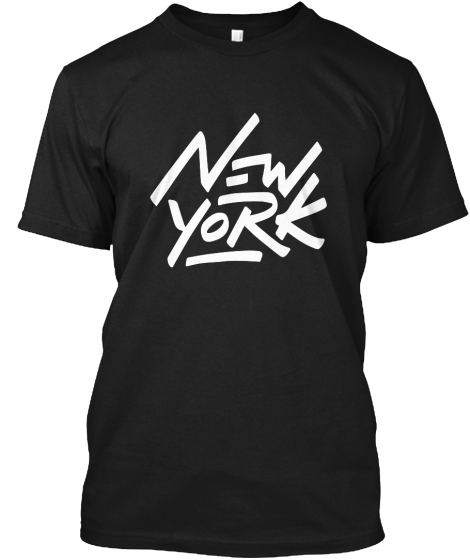 New York T-Shirt Front