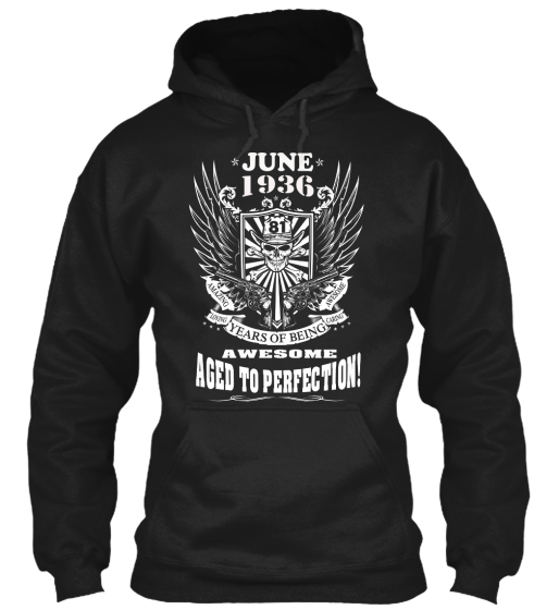 June 1936 Sweatshirt Front