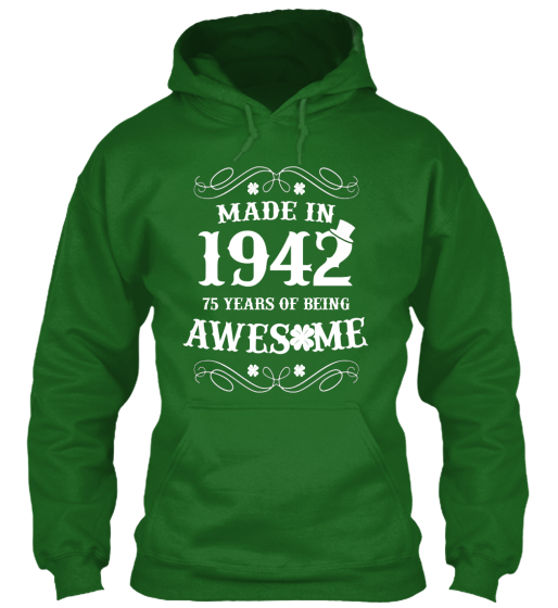 Made In 1942 Sweatshirt Front
