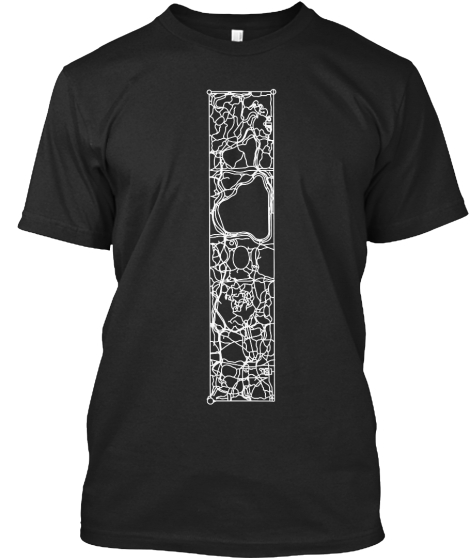 Walking Paths Of Central Park T-Shirt Front