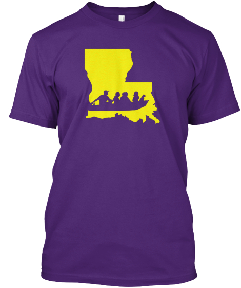 I Support Louisiana Search And Rescue  T-Shirt Front
