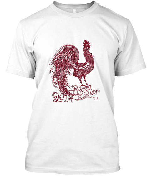 Chinese New Year  Red Rooster 2017 T-Shirt Front
