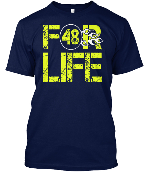 Limited Edition 48 For Life T-Shirt Front