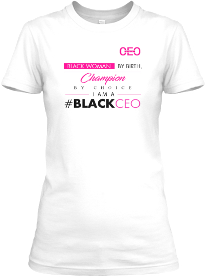 Black Ceo Women Women's T-Shirt Front
