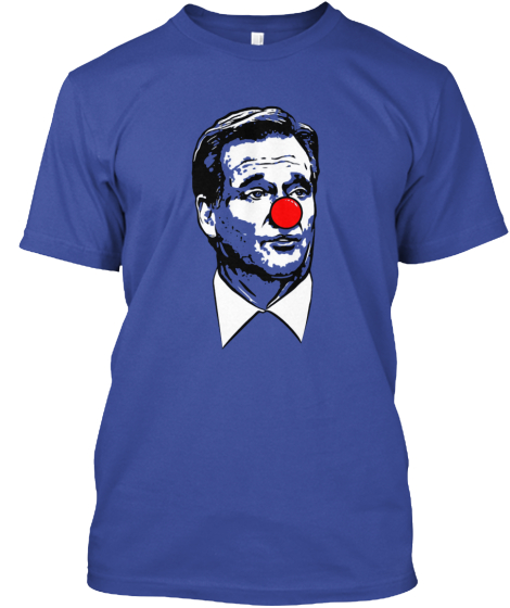 Roger Clown Shirt T-Shirt Front