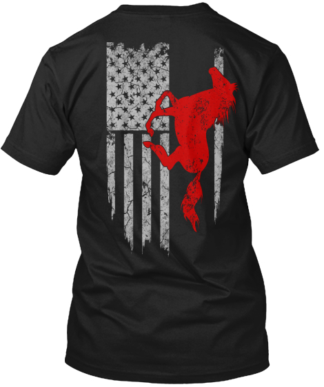 Limited Edition   Horse Riding T-Shirt Back