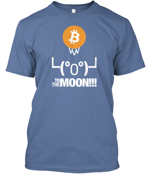 To the moon!!! Bitcoin T-Shirt