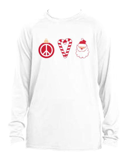 Peace, Love and Santa! - Limited Edition