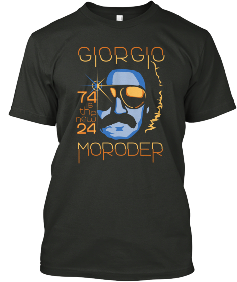 Limited Edition: Giorgio Moroder Apparel