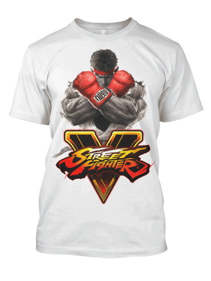 Street Fighter V: Rise Up Tee