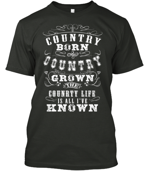 Limited-Edition Country Shirts!
