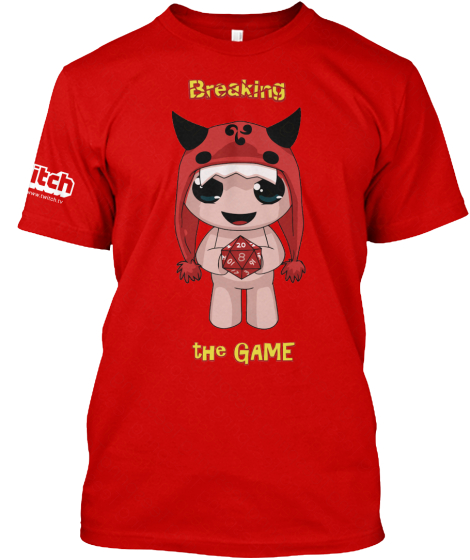 Limited Edition Isaac breaking shirt!