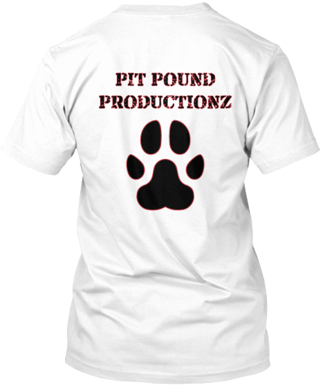 OFFICIAL PIT POUND PRODUCITONZ T-SHIRTS