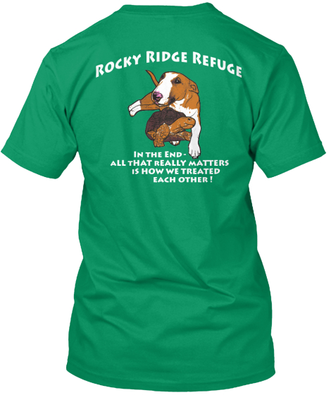 Rocky Ridge Refuge shirts now for sale!