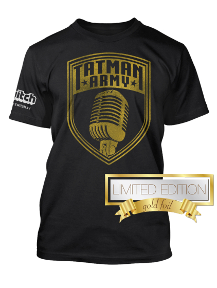 Tim TheTatMan Gold Foil!