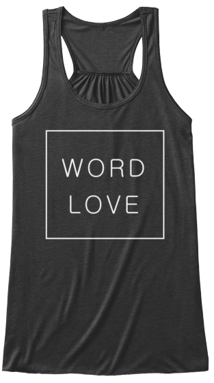 Wordlove square logo tee - LIMITED OFFER