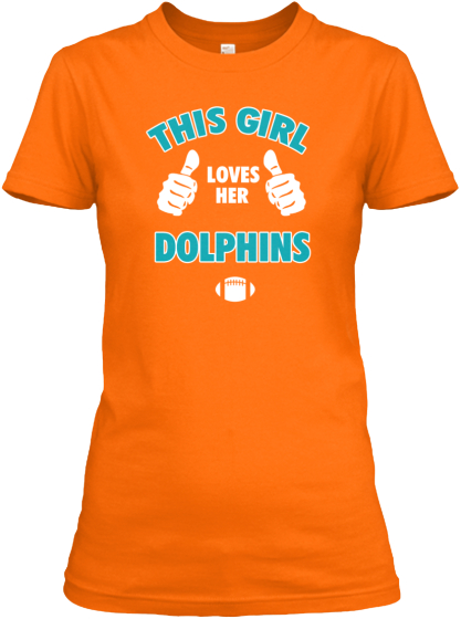 This Girl Loves Her Dolphins!