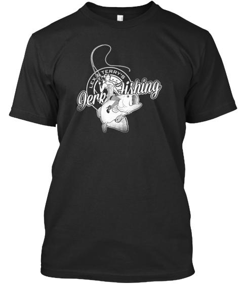 The OFFICIAL Jerk Fishing tee is here!