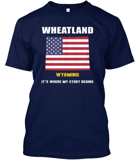 Wheatland, Wyoming t  shirt
