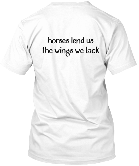Horses lend us%0Athe wings we lack
