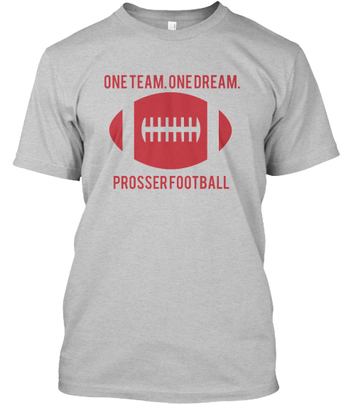 Prosser Mustangs Football One Team One Dream Prosser