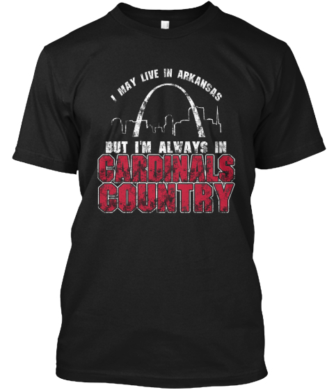 """Arkansas Is Cardinals Country"" Tees!"