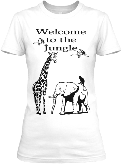 Welcome To The Jungle - T-Shirt