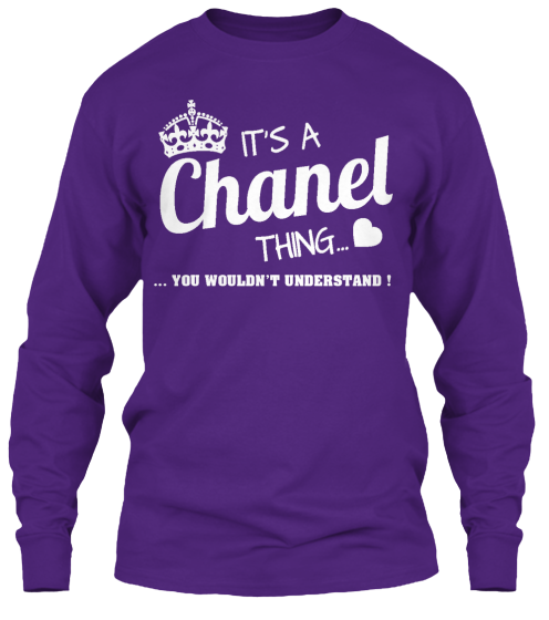 It'S A Chanel Thing - Hoodie / Sweatshirt / Sweater - It'S A Chanel Thing You Wouldn'T Understand !