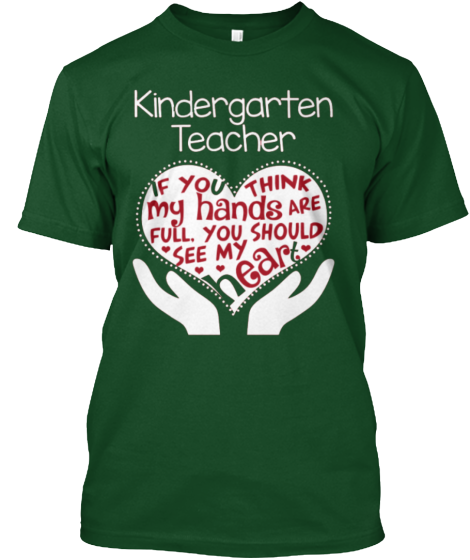 Kindergarten Teacher T-Shirt - T-Shirt