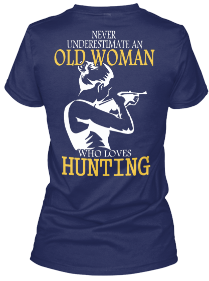 Limited - Hunting Old Woman - T-Shirt