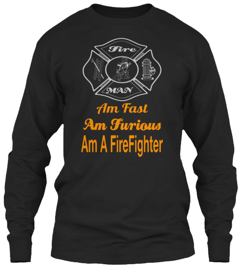 Limited Edition Fast Furious Firefighter - T-Shirt