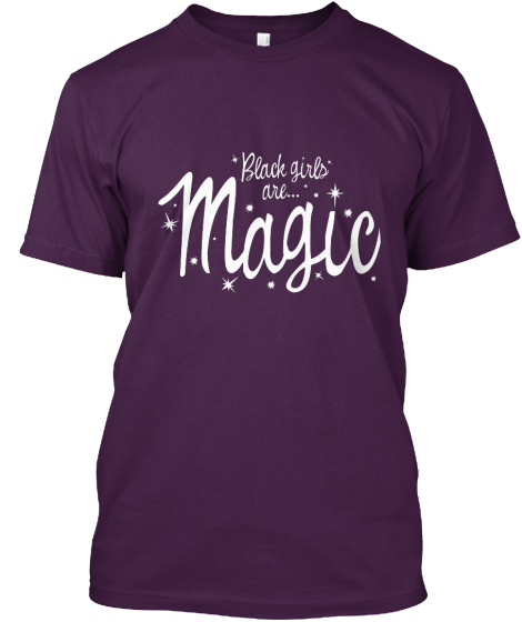 Black Girls Are Magic...In Purple!