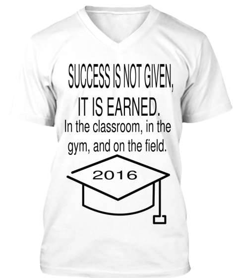 Limited Edition-Success Graduate 2016 - T-Shirt