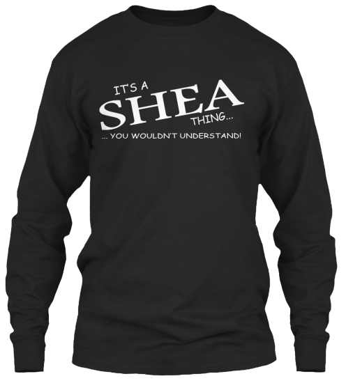 Limited Edition   Shea Thing Long Sleeve T-Shirt Front