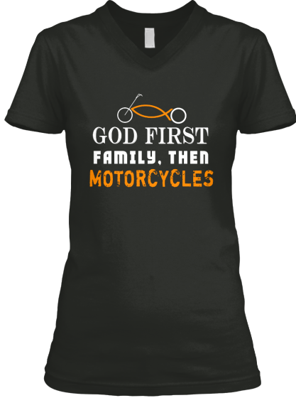 Bikers Shirt - Then Motorcycles - T-Shirt