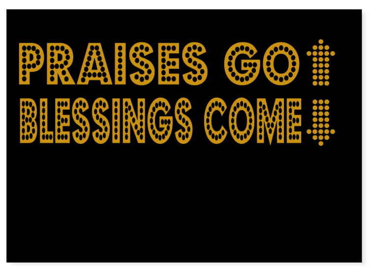 Give Praise To God! - T-Shirt