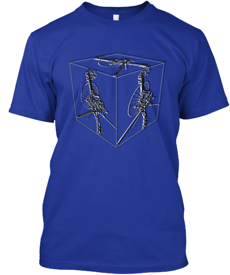 Voyager 2 Color Cube Tshirts - T-Shirt