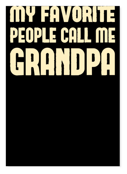 Call Me Grandpa - T-Shirt