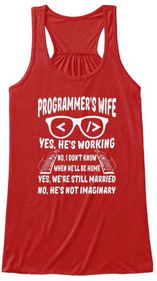 Programmer's wife
