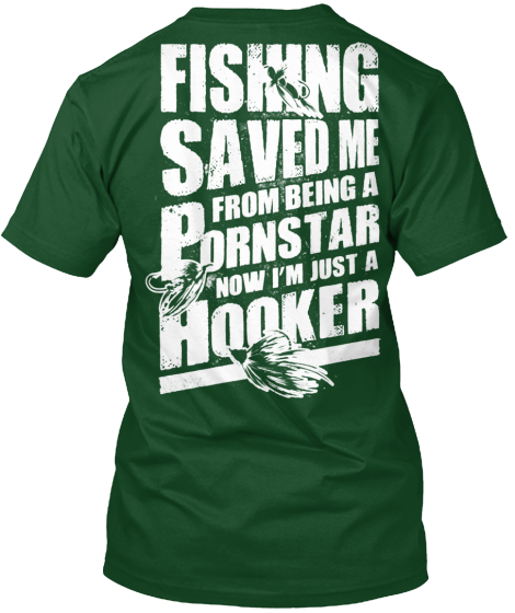 Fishing Porn Star - T-Shirt