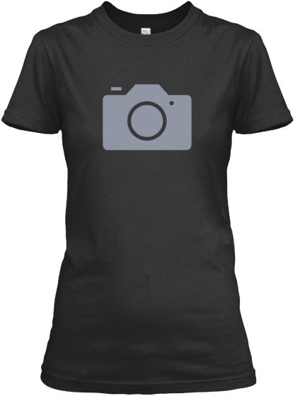 Camera Icon - Womens - T-Shirt