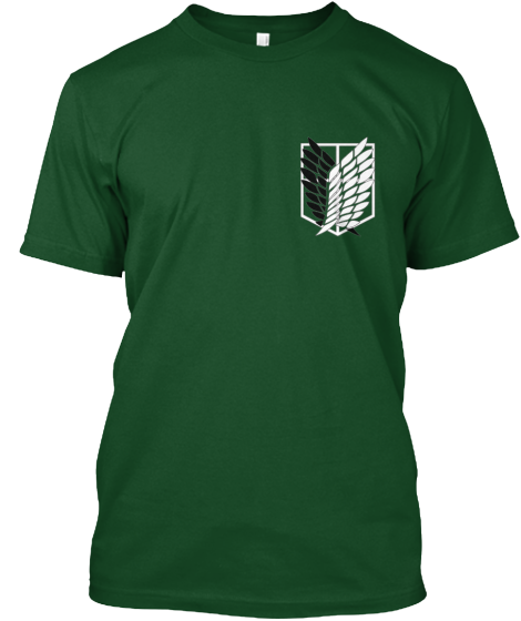 Attack On Titans Survey Corps - T-Shirt