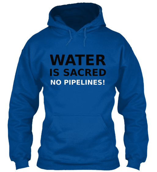 Water Is Sacred - T-Shirt