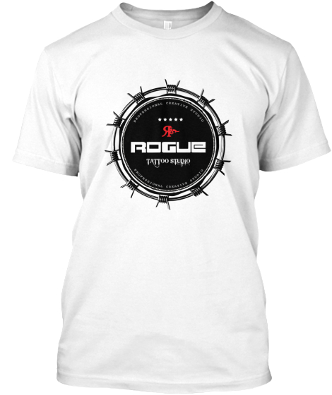 Rogue Tattoo Studio T-Shirt Front