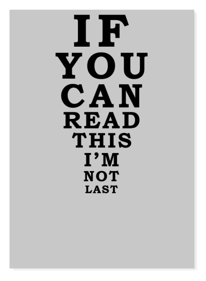 If You Cant Read This Running - T-Shirt