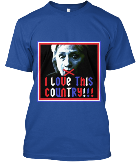 I Love This Country! - T-Shirt