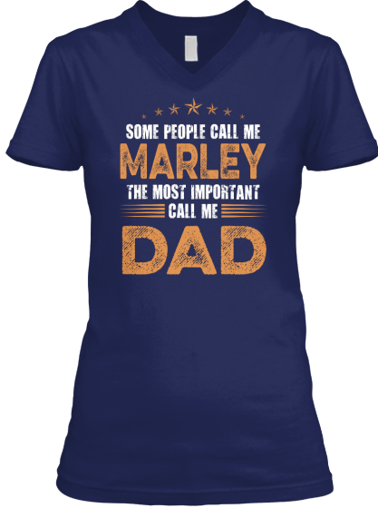 Name Marley Dad - Hoodie / Sweatshirt / Sweater