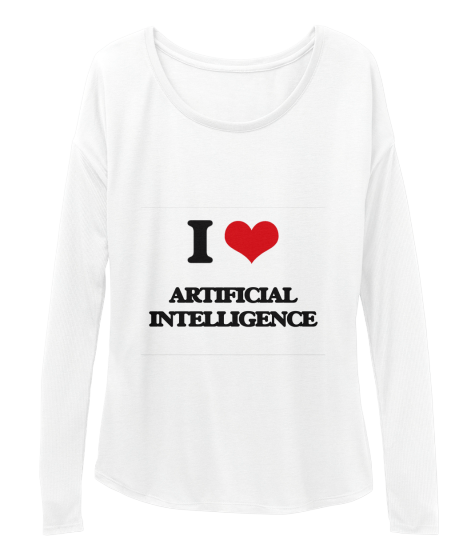 I Love Artificial Intelligence - T-Shirt